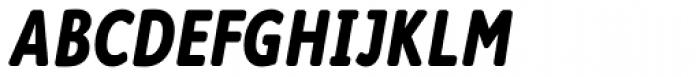 Cambridge Round Bold Cond Italic Font UPPERCASE