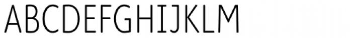 Cambridge Round Light Cond Font UPPERCASE
