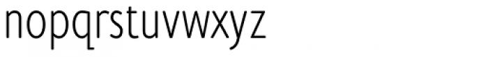 Cambridge Round Light Cond Font LOWERCASE