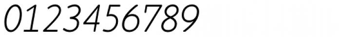 Cambridge Round Light Italic Font OTHER CHARS