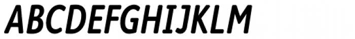 Cambridge Round SemiBold Cond Italic Font UPPERCASE