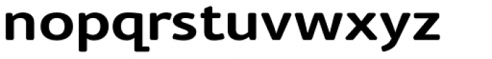 Cambridge Round SemiBold Exp Font LOWERCASE