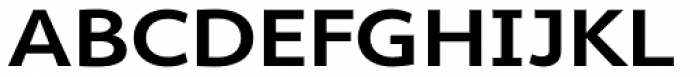 Cambridge SemiBold Exp Font UPPERCASE