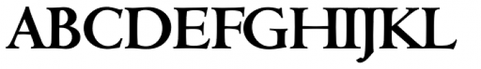 Cambridge Serial Bold Font UPPERCASE