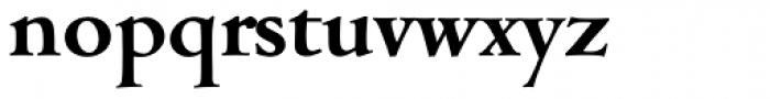 Cambridge Serial Bold Font LOWERCASE
