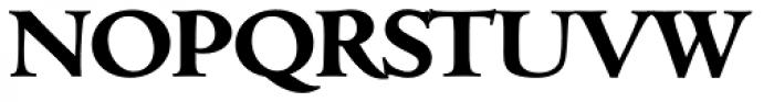 Cambridge Serial ExtraBold Font UPPERCASE