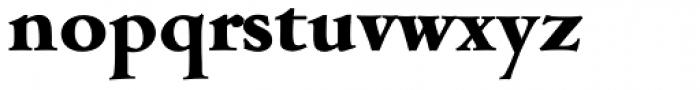 Cambridge Serial ExtraBold Font LOWERCASE