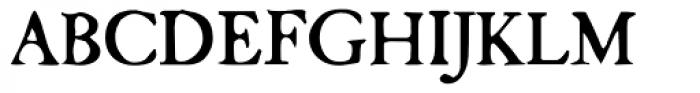 Camden Font UPPERCASE