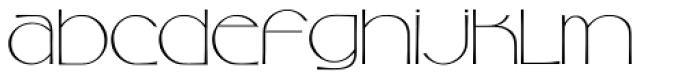 Camellia Font LOWERCASE