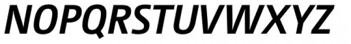 Camingo Dos Office Bold Italic Font UPPERCASE
