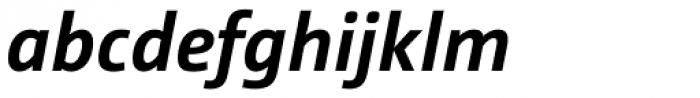 Camingo Dos Office Bold Italic Font LOWERCASE