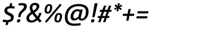 CamingoDos SemiBold Italic Font OTHER CHARS
