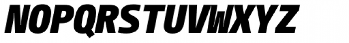 CamingoMono Black Italic Font UPPERCASE