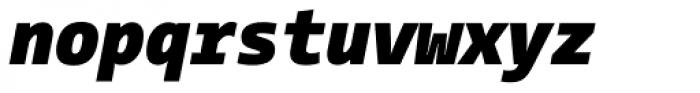 CamingoMono Black Italic Font LOWERCASE