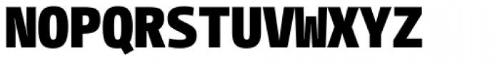 CamingoMono Black Font UPPERCASE