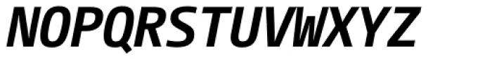CamingoMono Bold Italic Font UPPERCASE
