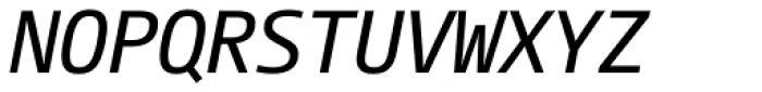 CamingoMono Italic Font UPPERCASE