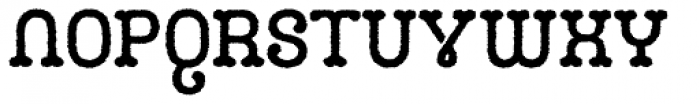Camo Rough Font LOWERCASE