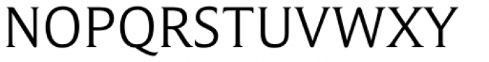 Campan Light Font UPPERCASE
