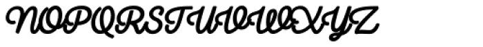 Camper Script3 Font UPPERCASE