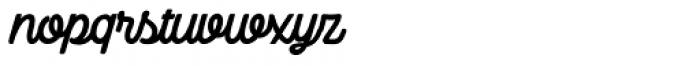 Camper Script3 Font LOWERCASE