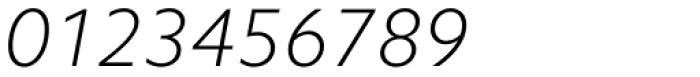 Camphor Std Thin Italic Font OTHER CHARS