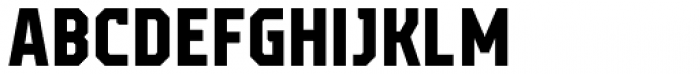 Campione Neue Sans Bold Font UPPERCASE