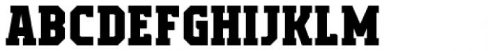 Campione Neue Serif Extra Bold Font LOWERCASE