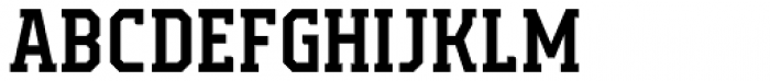 Campione Neue Serif Medium Font UPPERCASE