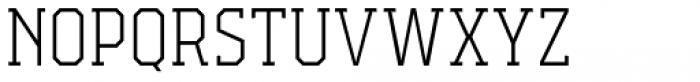 Campione Neue Serif Thin Font UPPERCASE