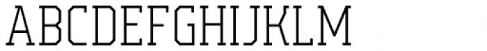 Campione Neue Serif Thin Font LOWERCASE