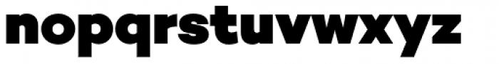 Campton Black Font LOWERCASE