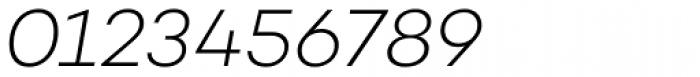Campton Light Italic Font OTHER CHARS