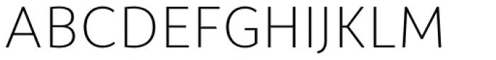 Campuni Light Font UPPERCASE