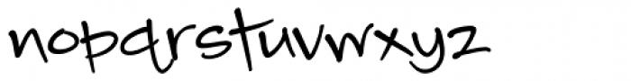 Camy BLack Medium Font LOWERCASE