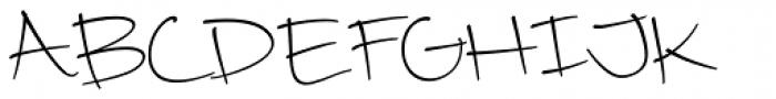 Camy Light Medium Font UPPERCASE