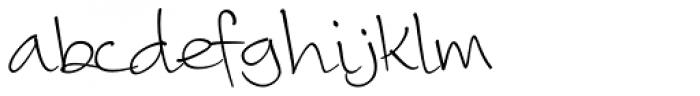 Camy Light Medium Font LOWERCASE