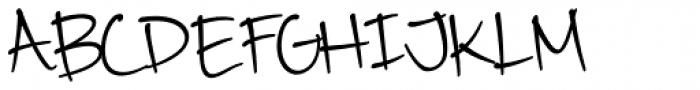 Camy Normal Narrow Font UPPERCASE