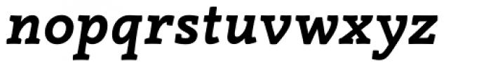 Canape Serif Bold Italic Font LOWERCASE