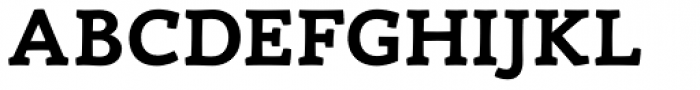 Canape Serif Bold Font UPPERCASE