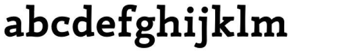 Canape Serif Bold Font LOWERCASE