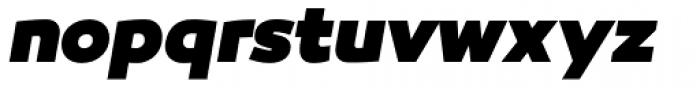 Canaro Black Italic Font LOWERCASE