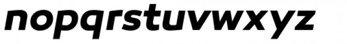Canaro Bold Italic Font LOWERCASE