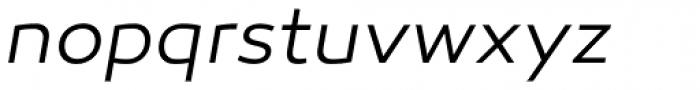 Canaro Light Italic DEMO Font LOWERCASE
