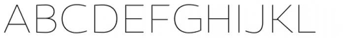 Canaro Thin Font UPPERCASE