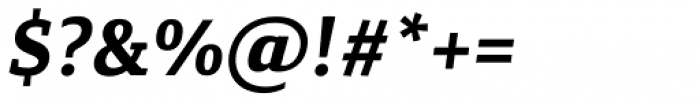 Canberra FY Bold Italic Font OTHER CHARS