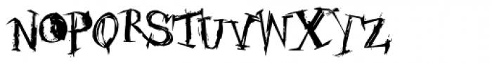 Candelaria Rota Font LOWERCASE