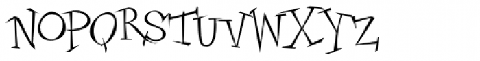 Candelaria Font LOWERCASE