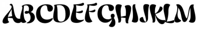 Candelivers Font UPPERCASE