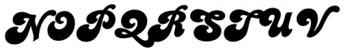 Candice Regular Font UPPERCASE